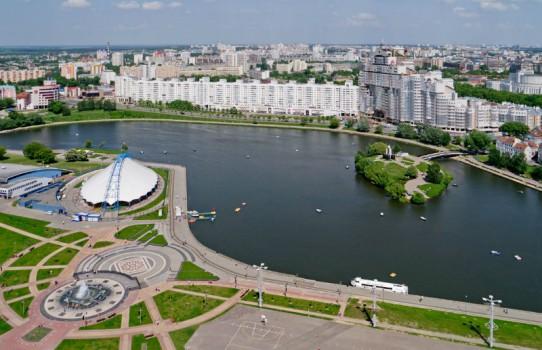 Часовня на Острове слёз в Минске