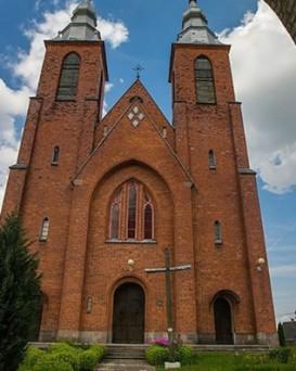 Костел Яна (Иоанна) Крестителя в поселке Мстибово