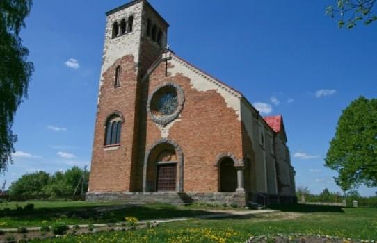 Костёл Наисвятейшего Сердца Иисуса в деревне Хотово