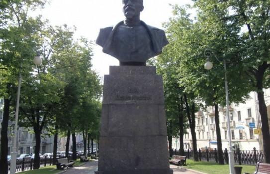 Памятник Дзержинскому в Минске