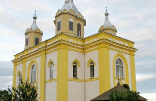 Церковь Спасо-Преображенская в Деречине