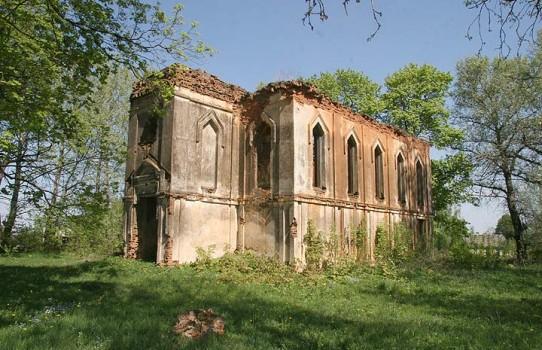 Церковь Святого  Георгия в деревне Комсомольской (Пуково)