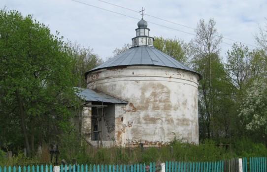 Церковь Святого Николая Чудотворца в деревне Пральники