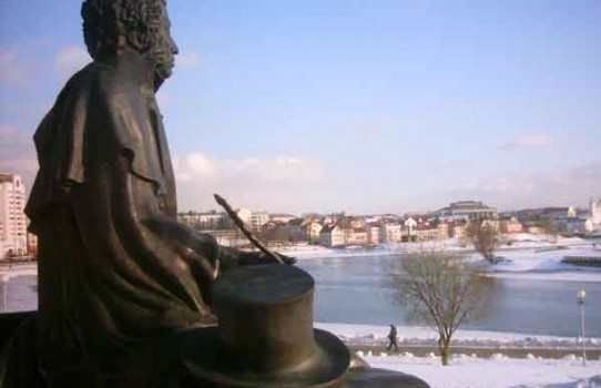 Памятник Пушкину в Минске
