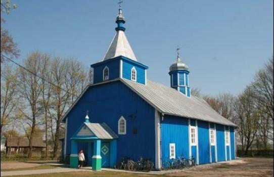 Церковь Святой Троицы в агрогородке Пески