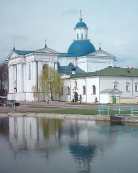 Жировичский Монастырь в деревне Жировичи